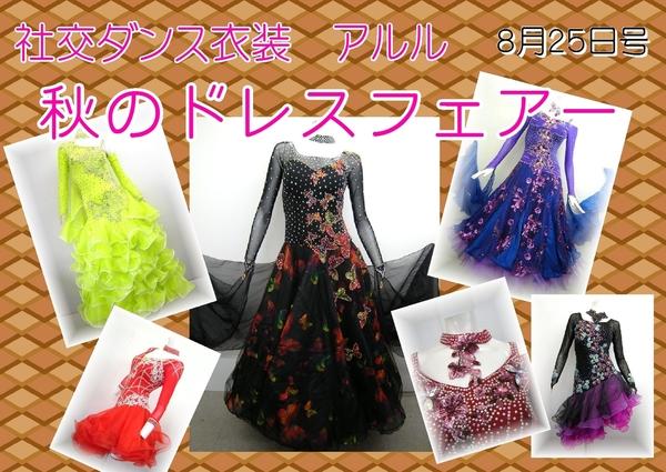 【社交ダンス衣装 アルル】《新入荷》秋のドレスフェアー