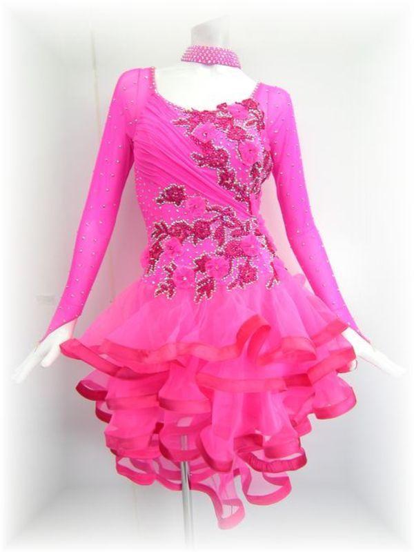 春の新作!正装ラテンドレス