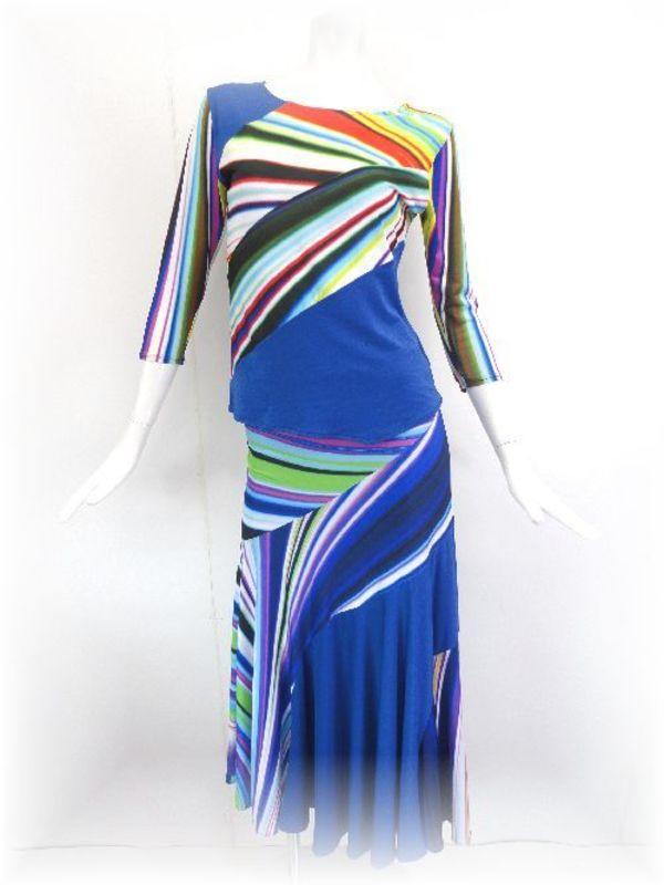 高品質なデザイン社交ダンススーツ
