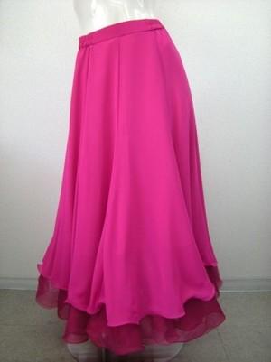 《大処分》【ss497】アルルオリジナル国産モダンスカート Mサイズ ピンク 17900円を↓