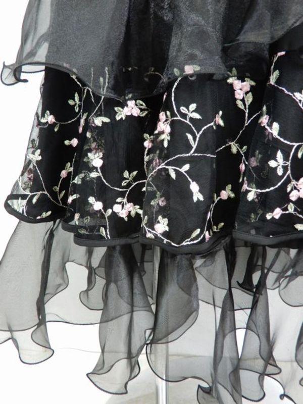 【sk687】社交ダンスロングスカート ギャザー入りストレート ピンク