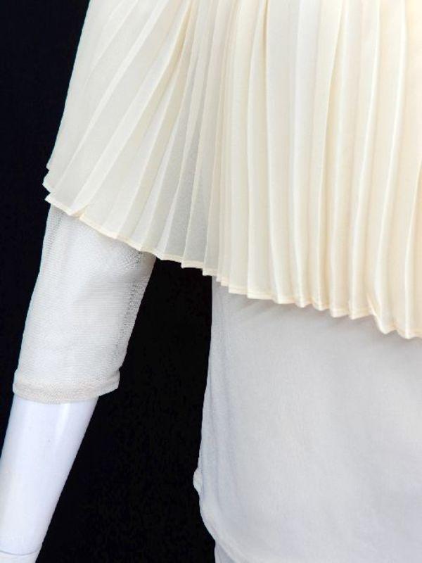 高品質【su397】社交ダンス上下スーツ プリーツケープ風 ロングスカート ベージュ