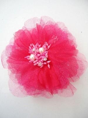 特価【ac051】コサージュ ヘアーアクセサリー&洋服飾り パール蕾 ピンク