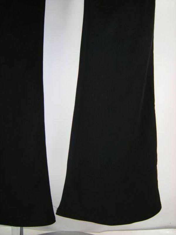 【p519】ダンスパンツ ブーツカット 普通丈 厚地 Mサイズ