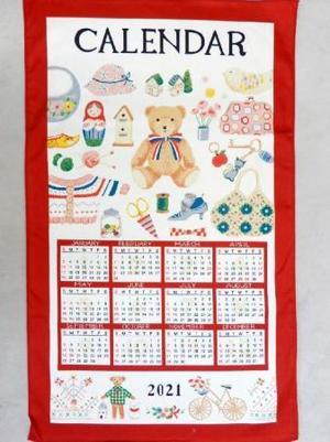 《毎年恒例》布カレンダー★先着100名お買い上げ10,000円(税込)以上でプレゼント!!